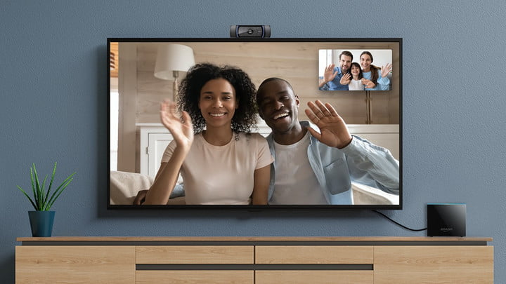 Amazon Fire TV Cube two-way video calling