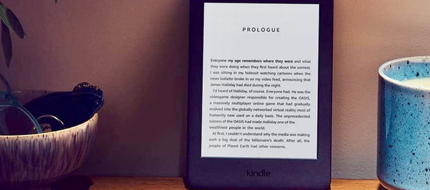 Amazon Kindle with built in light (ad supported)