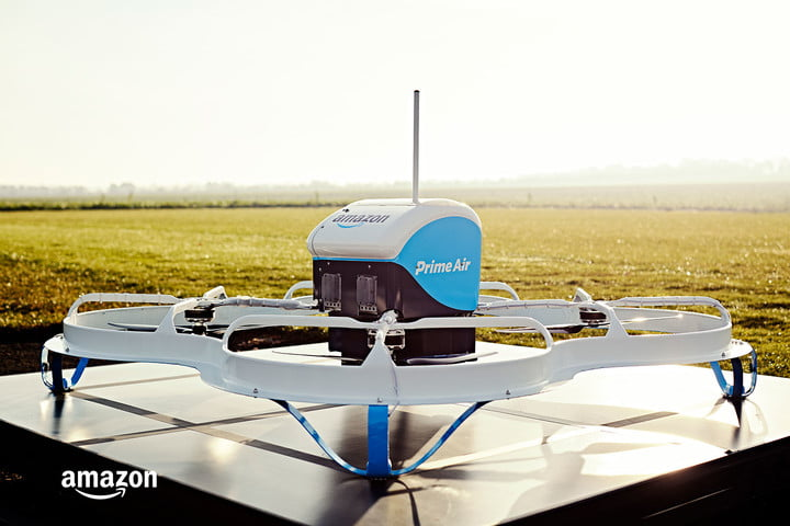 amazon prime air delivery drones history progress amazons first drone