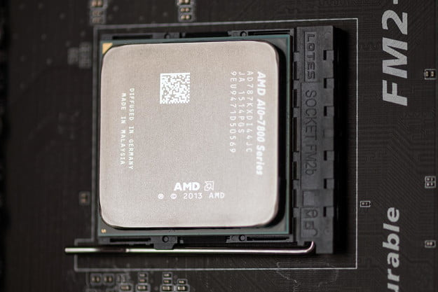 AMD A10 7870K review chip macro