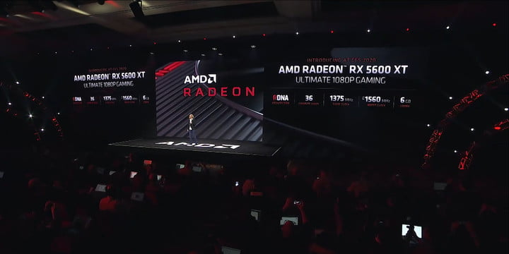 The Radeon RX 5600 XT becomes the newest member of the Radeon family at CES 2020.