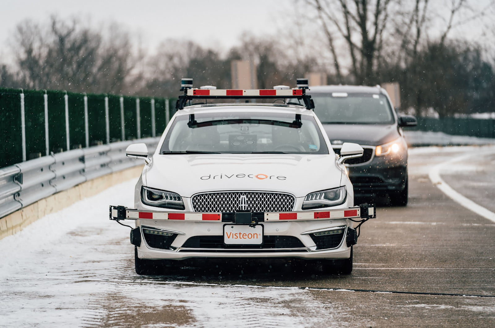worlds first highway test facility for autonomous vehicle opens in michigan american center mobility  2