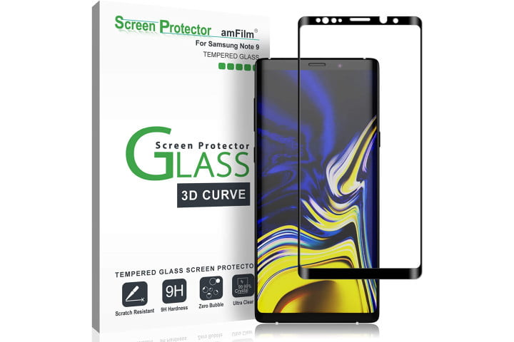 amfilm glass screen protector best galaxy note 9 screen protectods