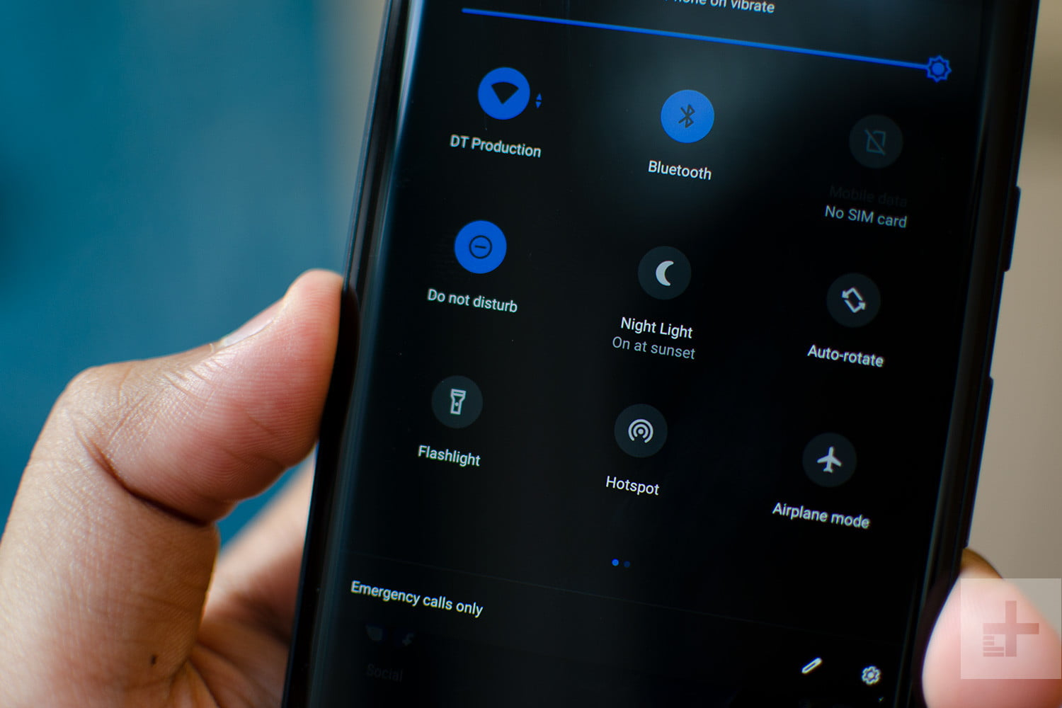 android 9 pie quick settings