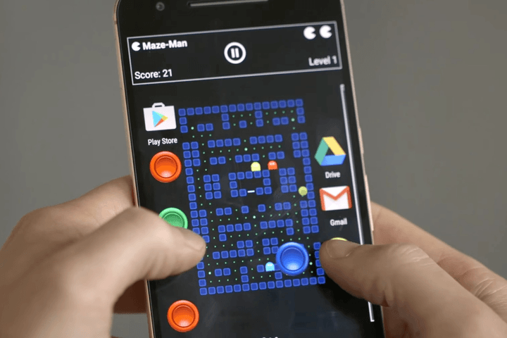 android experiments pac man