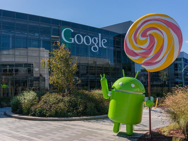 android lollipop problems at google hq