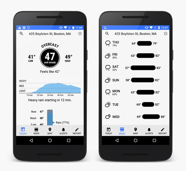 dark sky weather app android android1