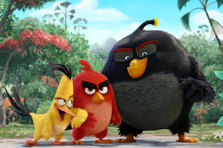 box office weekend angry birds captain america movie