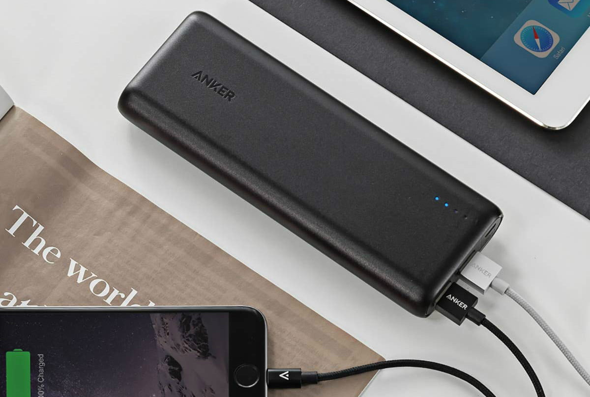 amazon daily deals on anker iphone wireless chargers usb powercore portable charger 15600mah 2