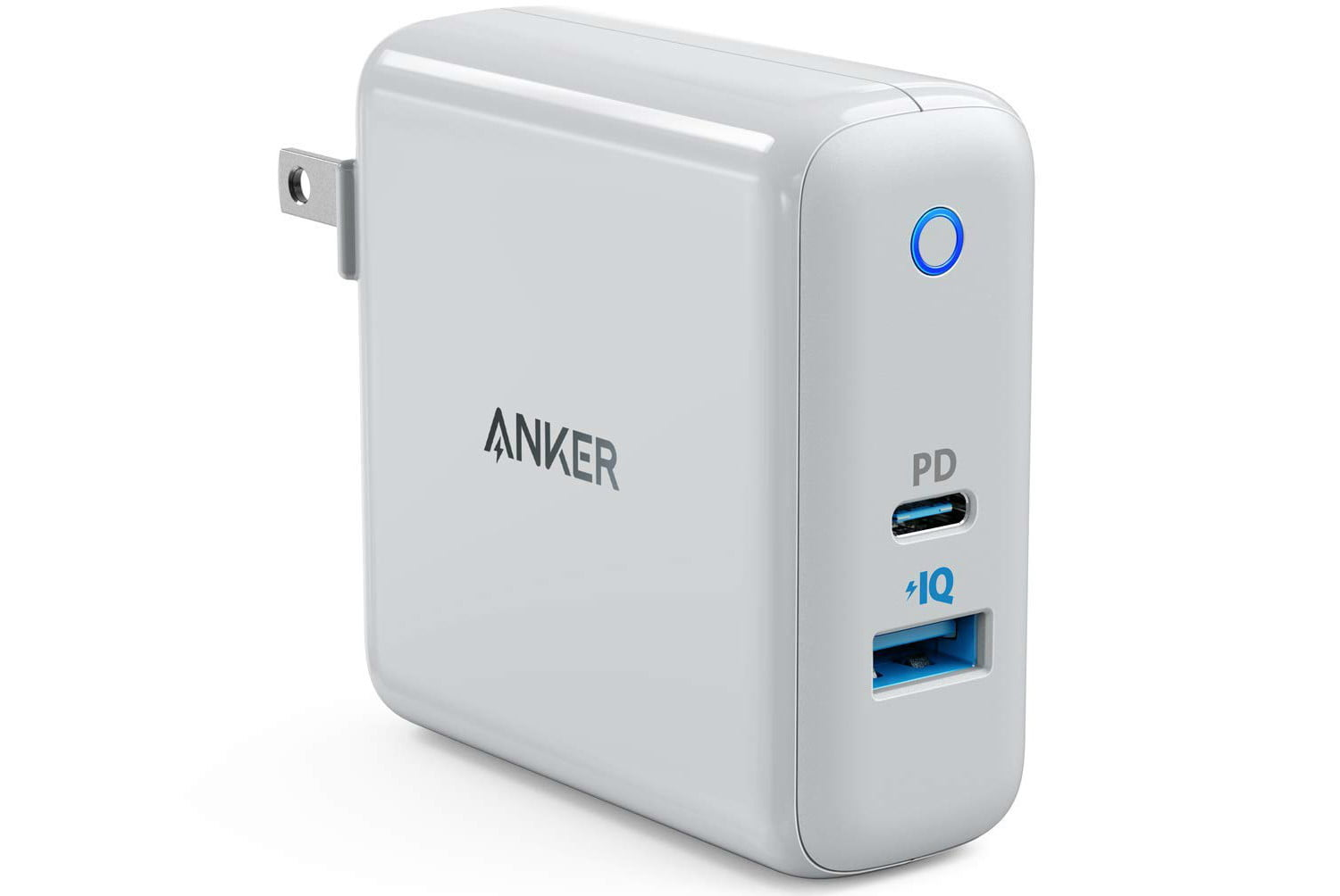 amazon daily deals on anker iphone wireless chargers usb powerport speed  duo wall charger with 30w power delivery port 1