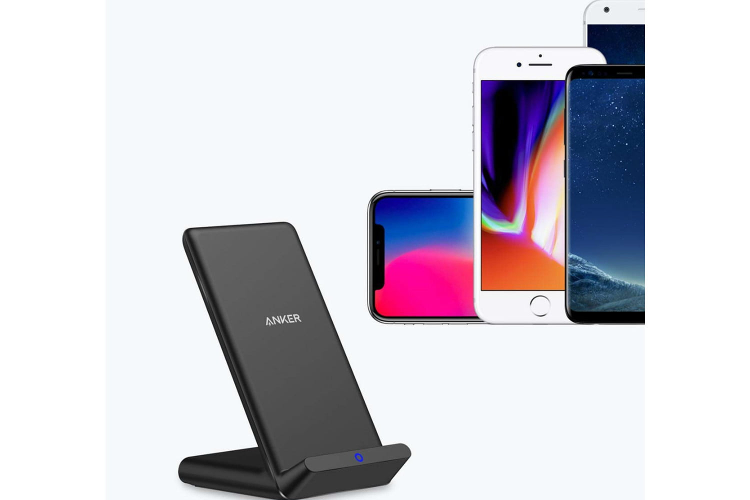 amazon daily deals on anker iphone wireless chargers usb charger qi certified compatible 2