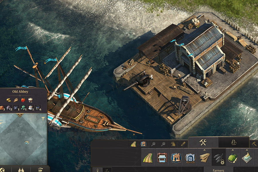 amd fidelityfx super resolution review anno 1800 fsr ultra quality cropped
