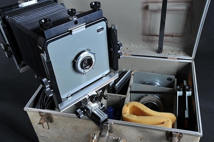 ansel adams camera to be auctioned online 1