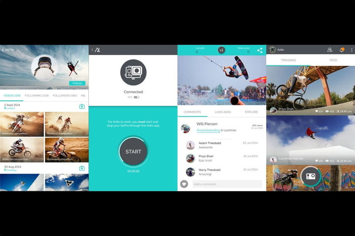 app automatically cuts gopro videos according deems exciting antix