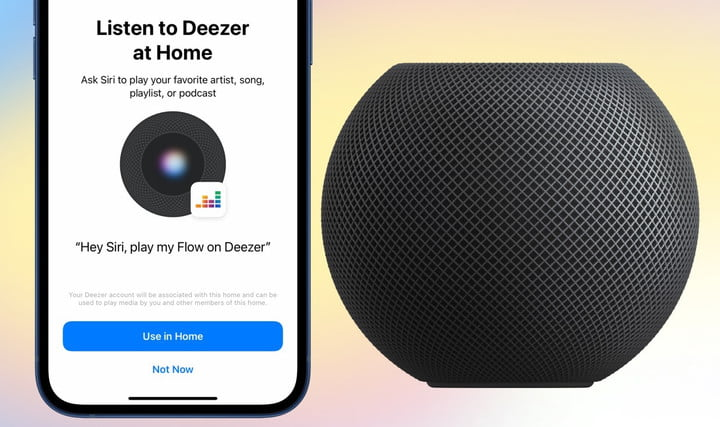 Deezer has been added to Apple's HomePod and HomePod mini