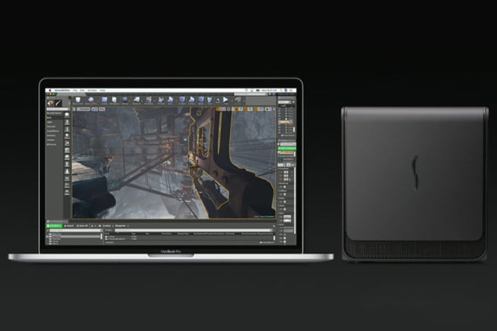 apple external graphics card enclosure support soon
