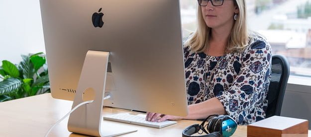 Apple iMac with Retina 5K Display review lifestyle back