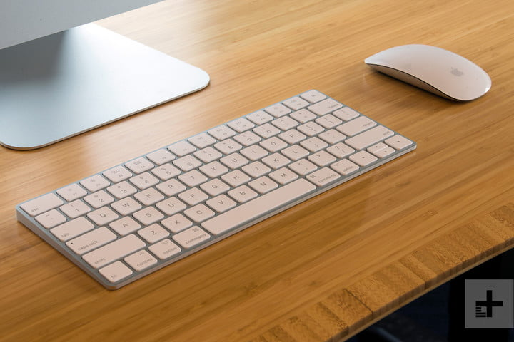 Apple iMac with Retina 5K Display review keyboard and mouse