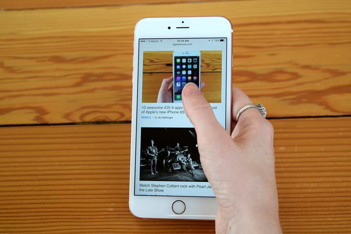 Apple iPhone 3D touch
