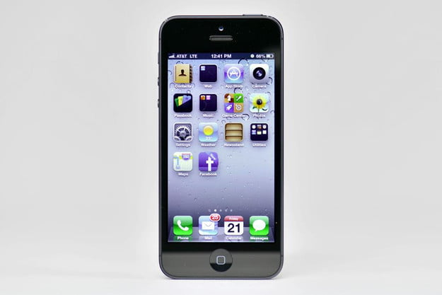 apple iphone 5 front