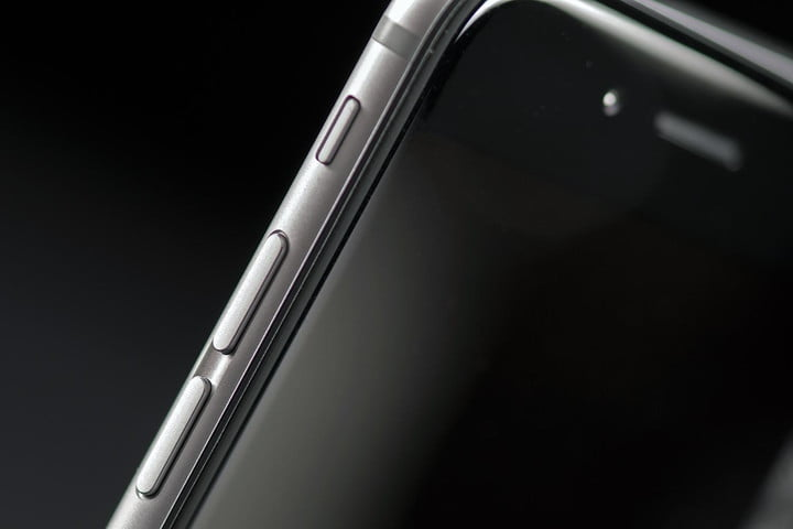 Apple iPhone 6 side buttons