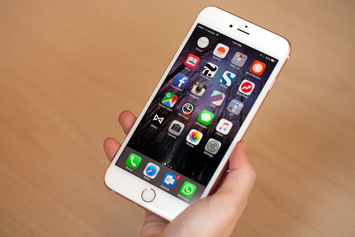 apple shares in 2015 suffered their first negative year eight years iphone 6s 7835