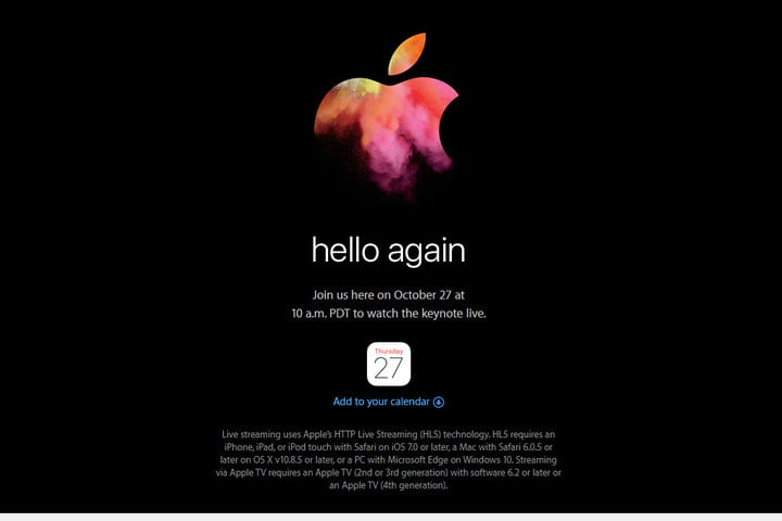 apple event what to expect october 27