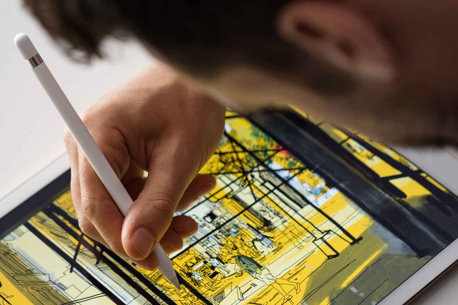 apple ipad pro pencil for artists oped 2
