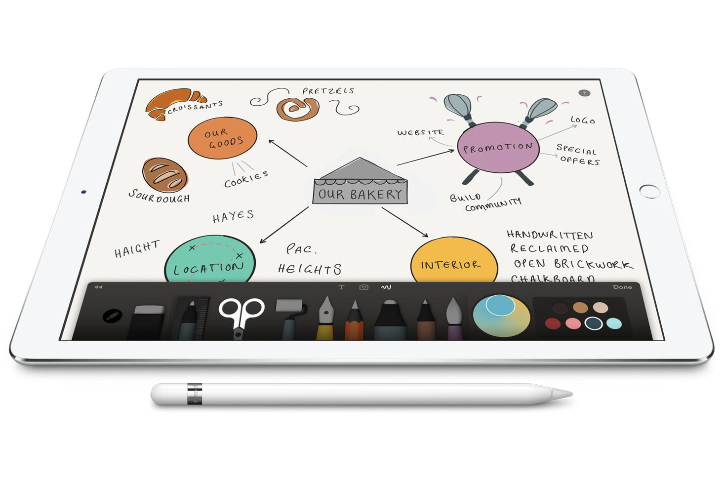 apple ipad pro pencil for artists oped 7