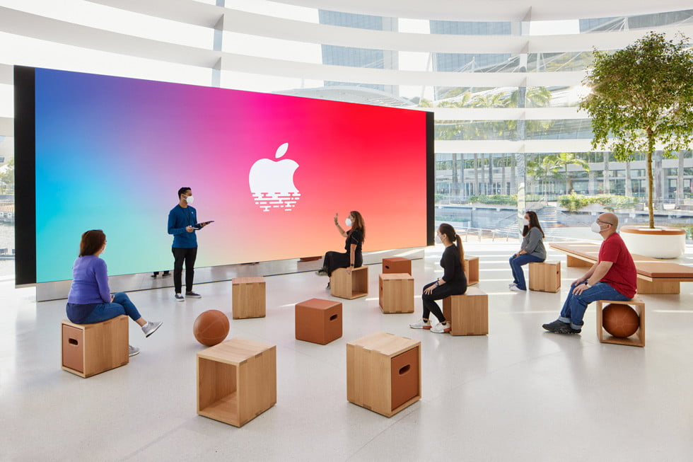 check out the stunning design of apples newest retail store apple  singapore 4