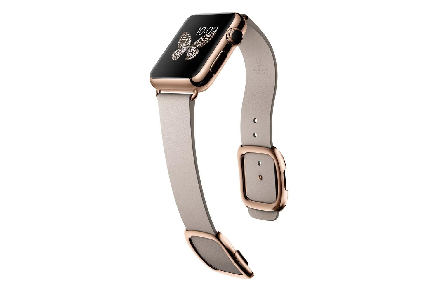 apple watch release news edition rose gold gray