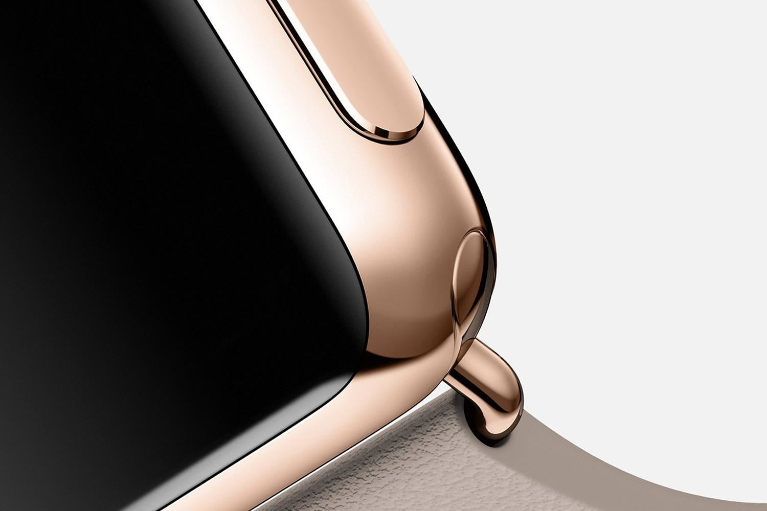 apple watch release news edition rose gold gray detail
