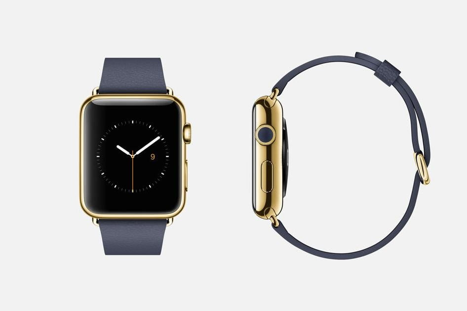 apple watch release news edition blue classic