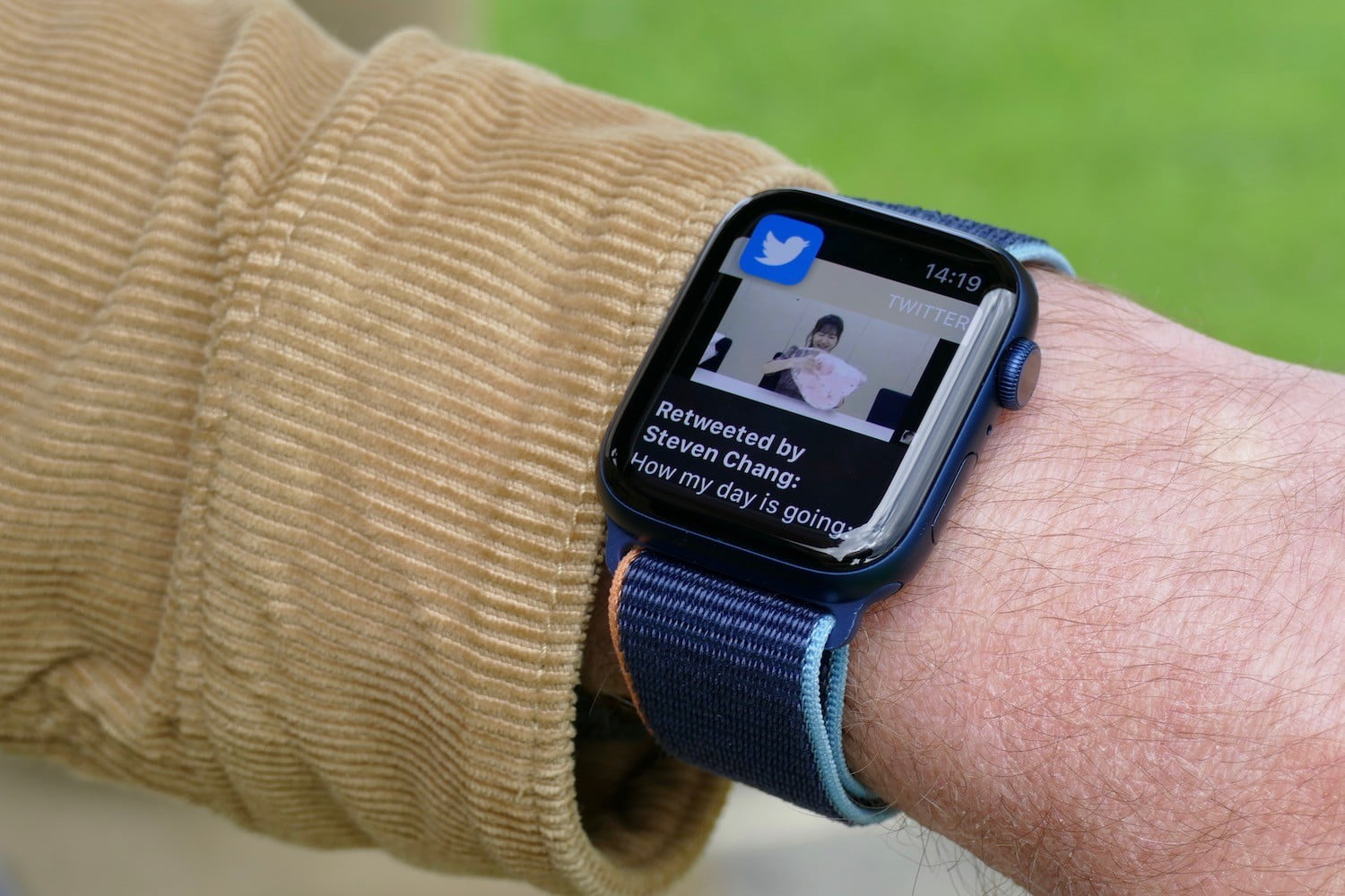 apple watch series 6 review twitter notification