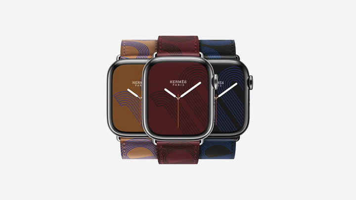 Hermés editions of the Apple Watch Series 7.