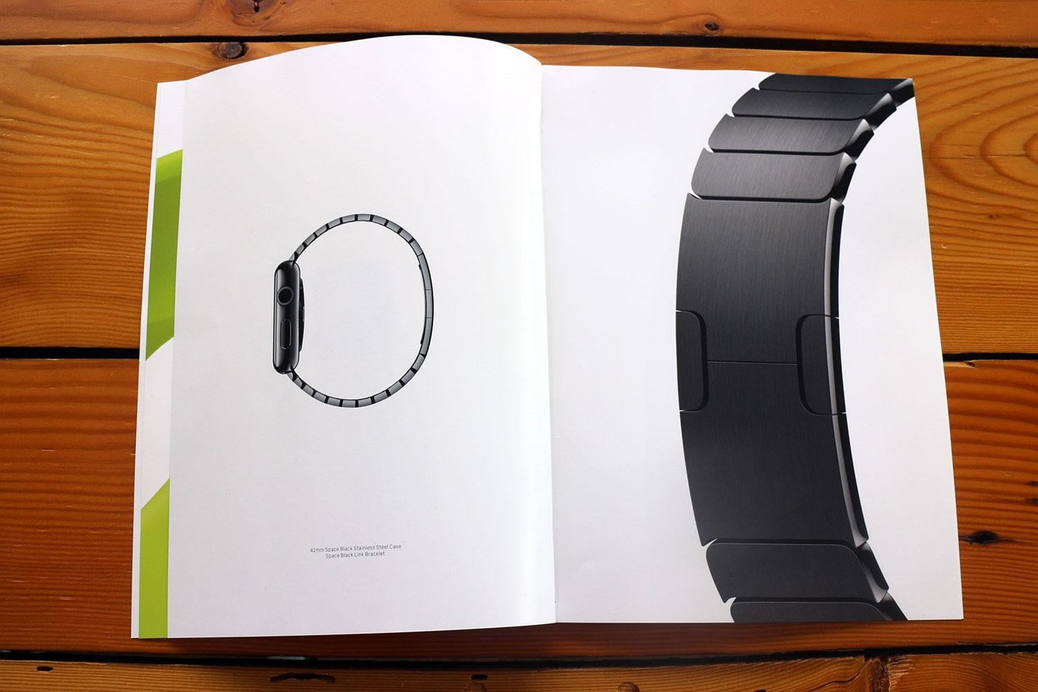 apple watch splashed across 12 pages of vogues march issue vogue ad 6117