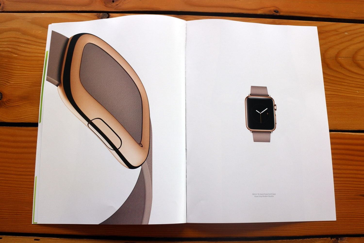 apple watch splashed across 12 pages of vogues march issue vogue ad 6118