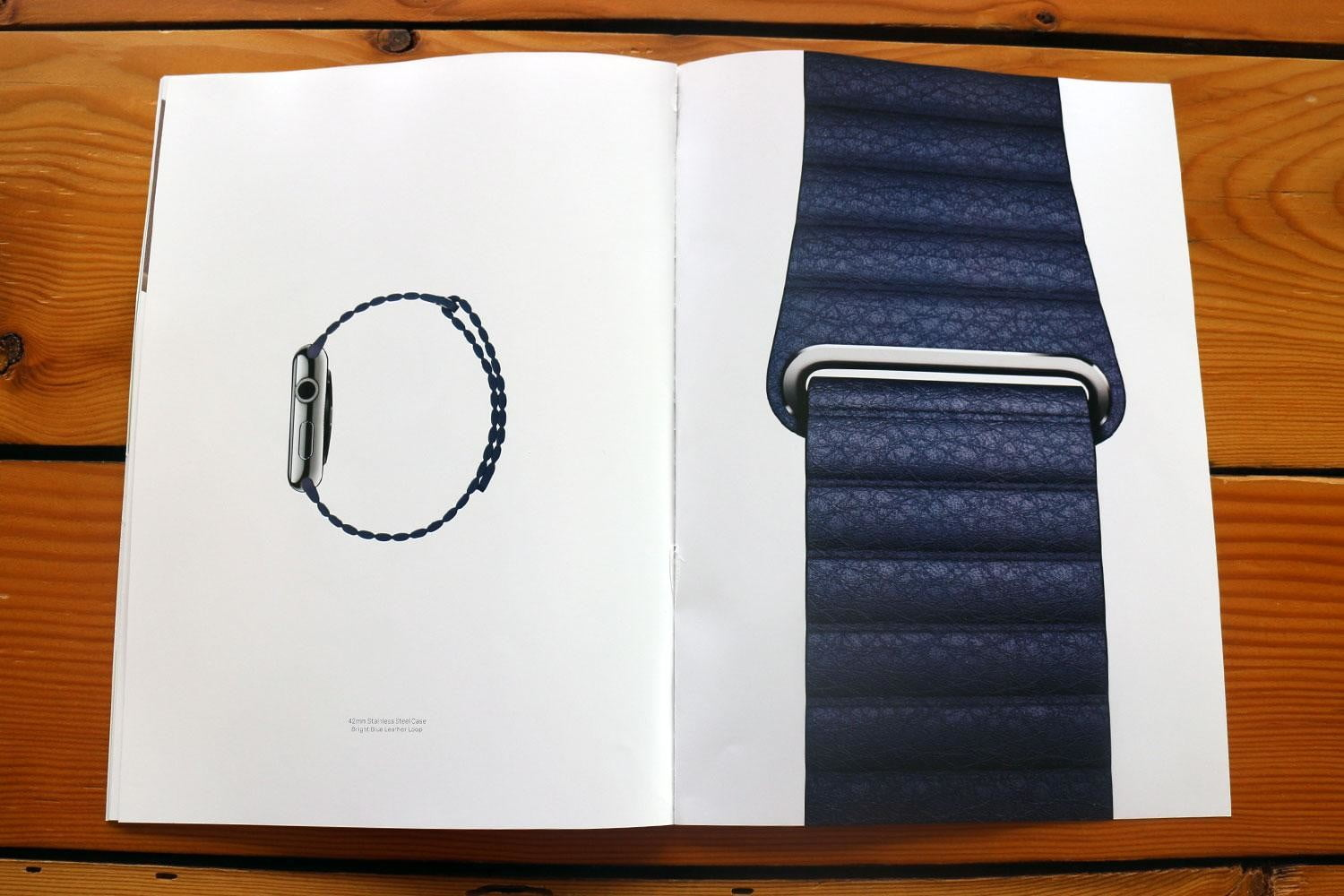 apple watch splashed across 12 pages of vogues march issue vogue ad 6119