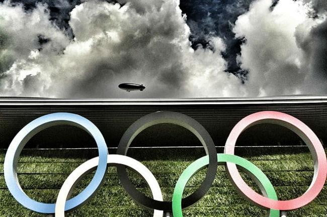 olympics will use instagram video aquatic center rings beck