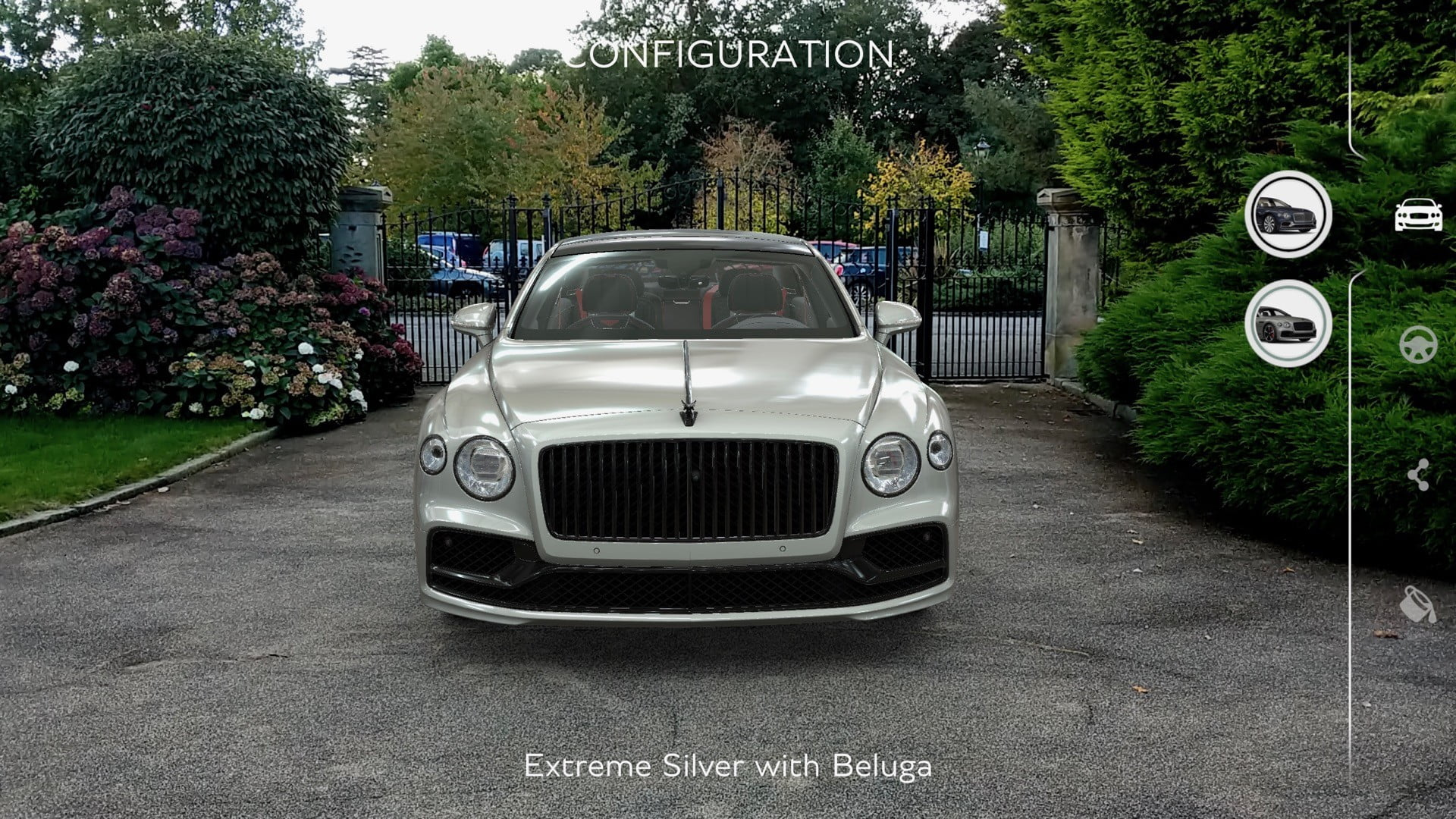2020 bentley flying spur augmented reality app for ios and android ar