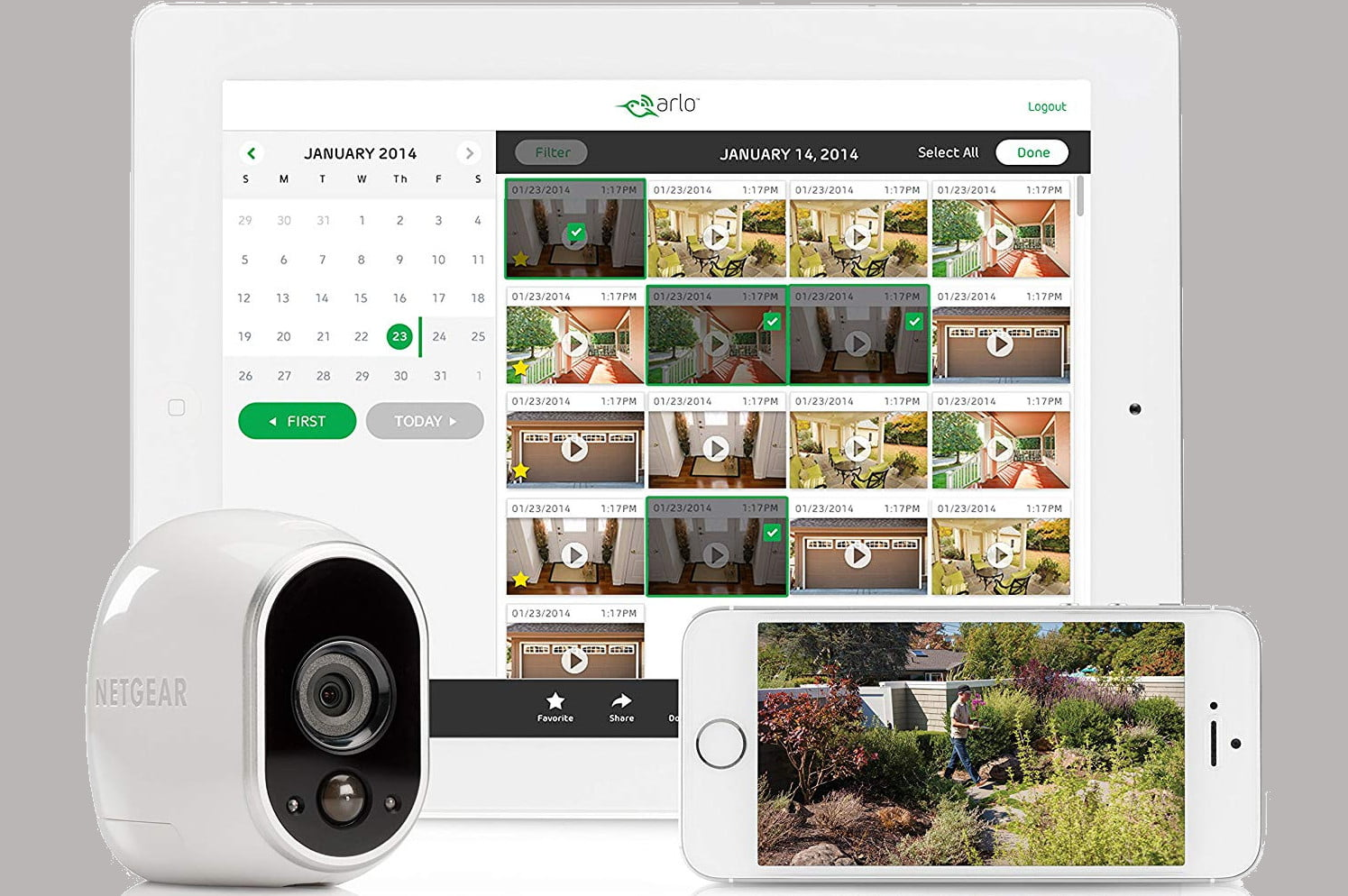 amazon drops the price for arlo hd indoor and outdoor security camera systems wire home 2 system 04  1