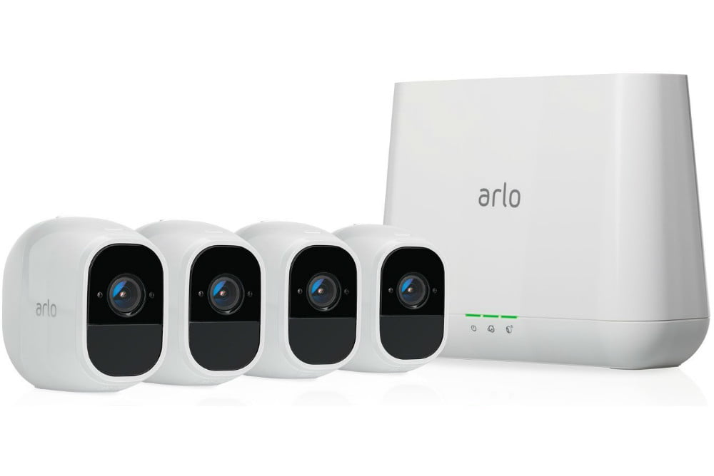 amazon drops prices on arlo pro 2 outside security camera kits wireless home system  4 kit