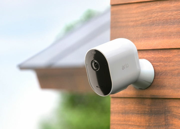 Arlo - Pro 3 4-Camera Indoor-Outdoor Wire-Free 2K HDR Security Camera System
