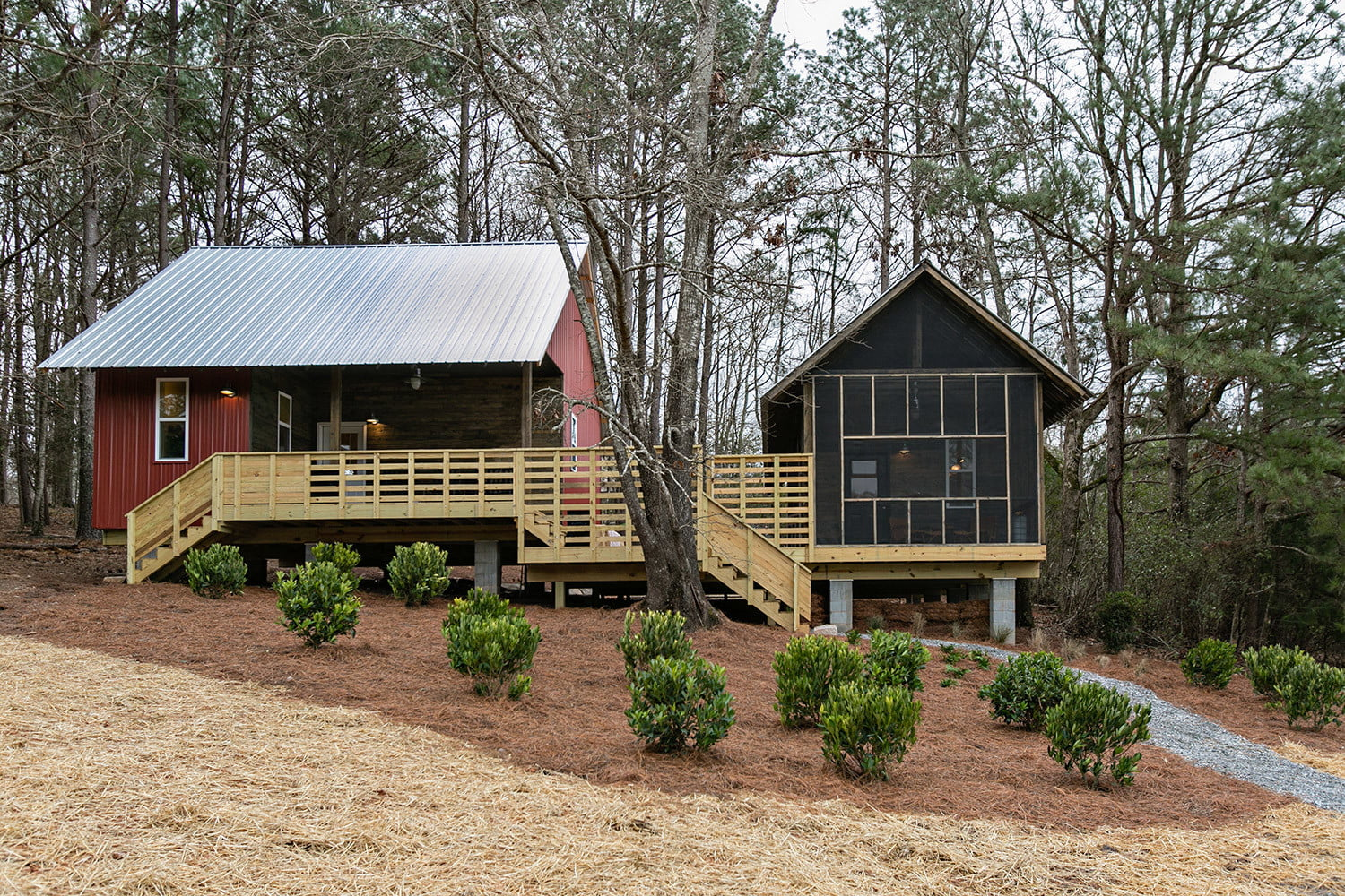 rural studio and serenbe collaborate on 20k homes art farm cottages 0058
