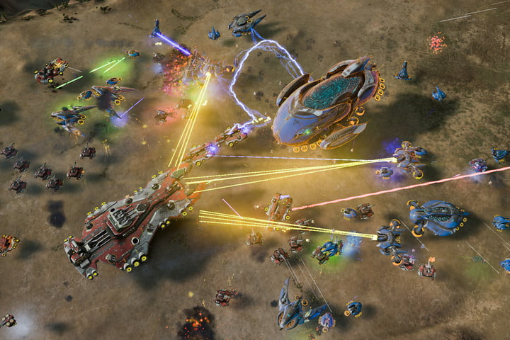 A battleground in Ashes of the Singularity.