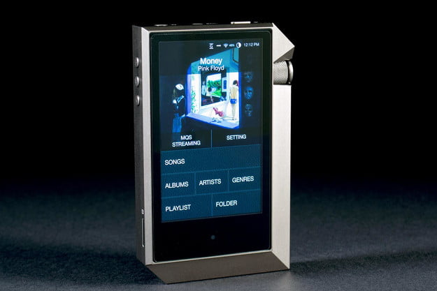 Astell & Kern AK240 front angle screen