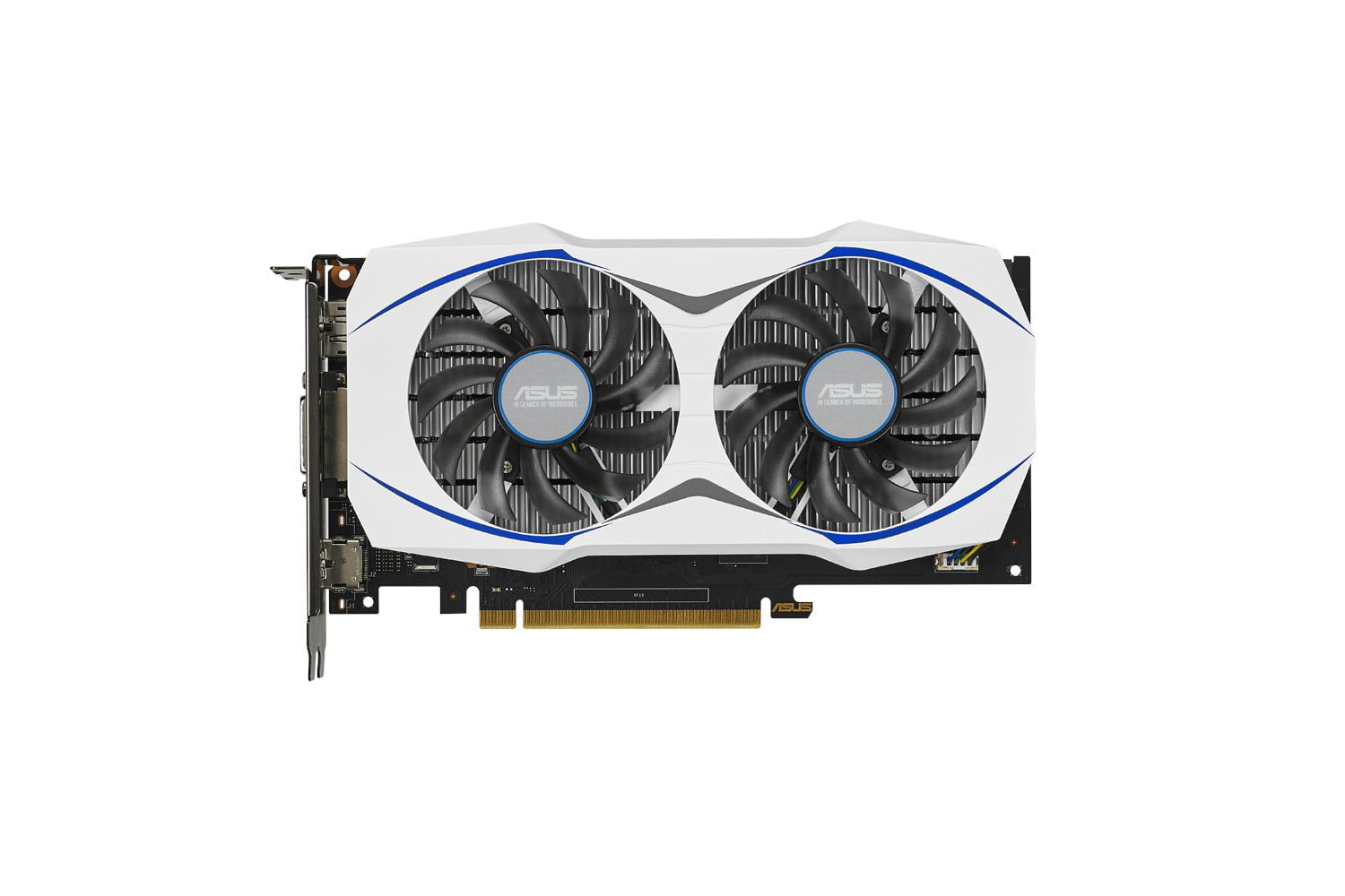asus geforce gtx 950 gpu negates the need for a power connector 5