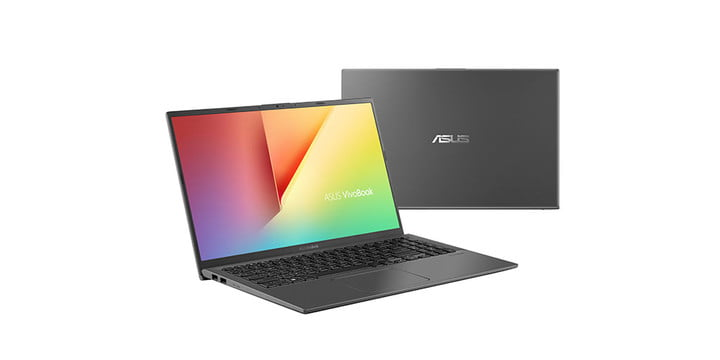 ASUS VivoBook on a white background.