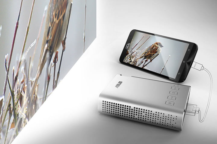 asus brings a usb c monitor 34 inch curved display and projector to ces zenbeam portable  amp zenfone