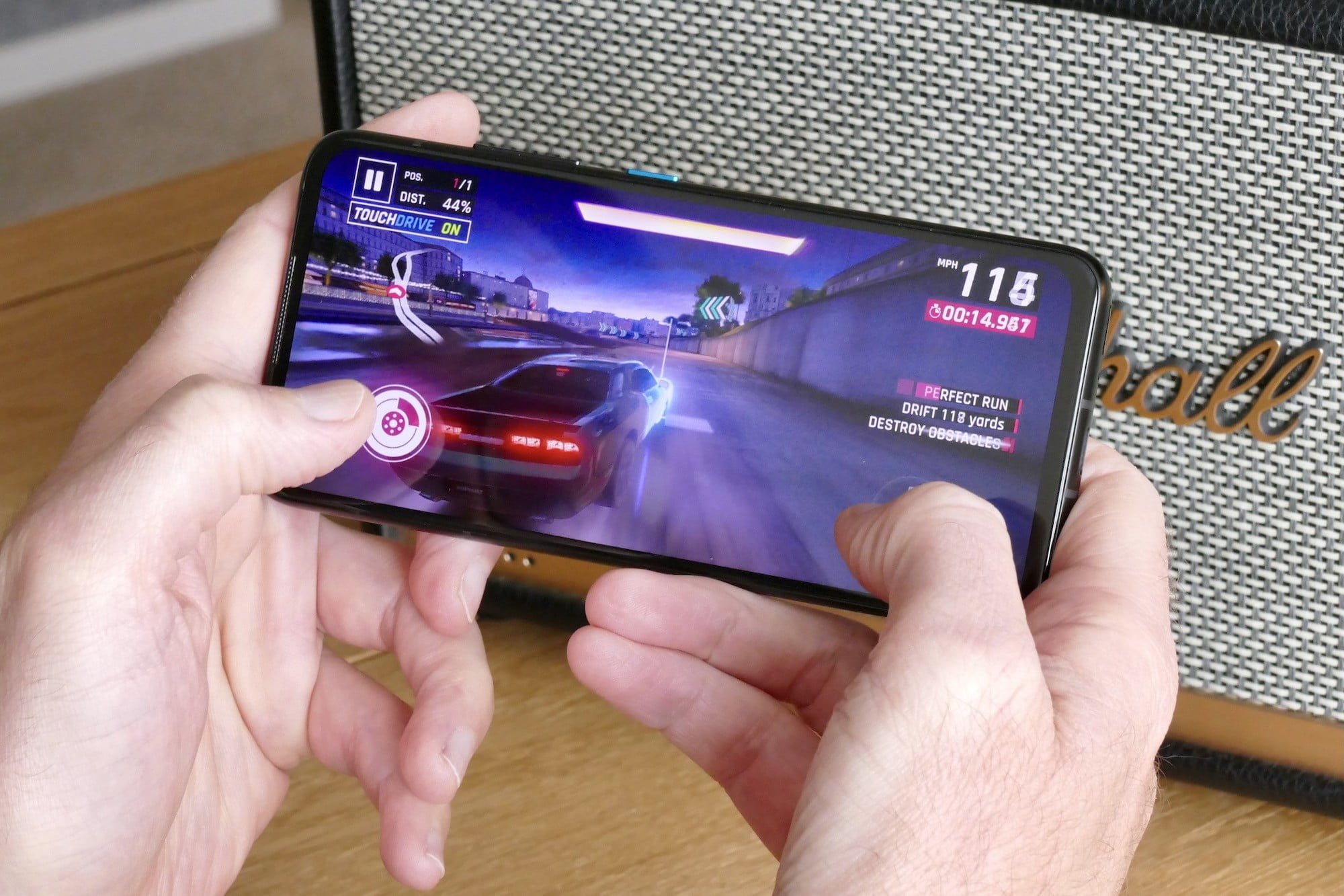 asus zenfone 8 review game